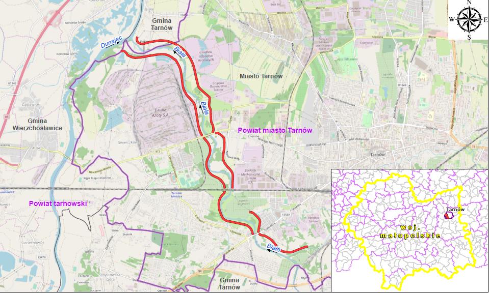 Mapa inwestycji 3D.2/2 Fot. PGW Wody Polskie